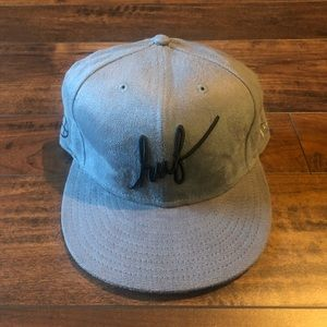 Huf suede fitted 7 1/2